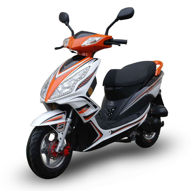 50cc gasoline scooter with EEC certificate