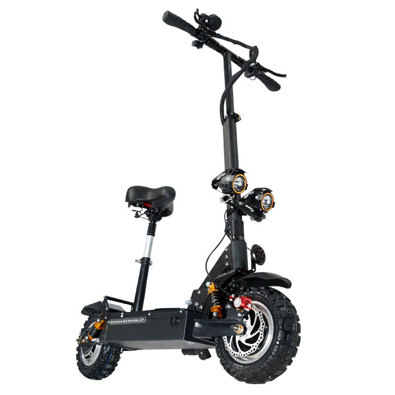Whole Sales OEM and ODM Outdoors Sports Electric Scooter Safe and Fast 80KM Per Hour 60V3200W Electric Bike for Adult