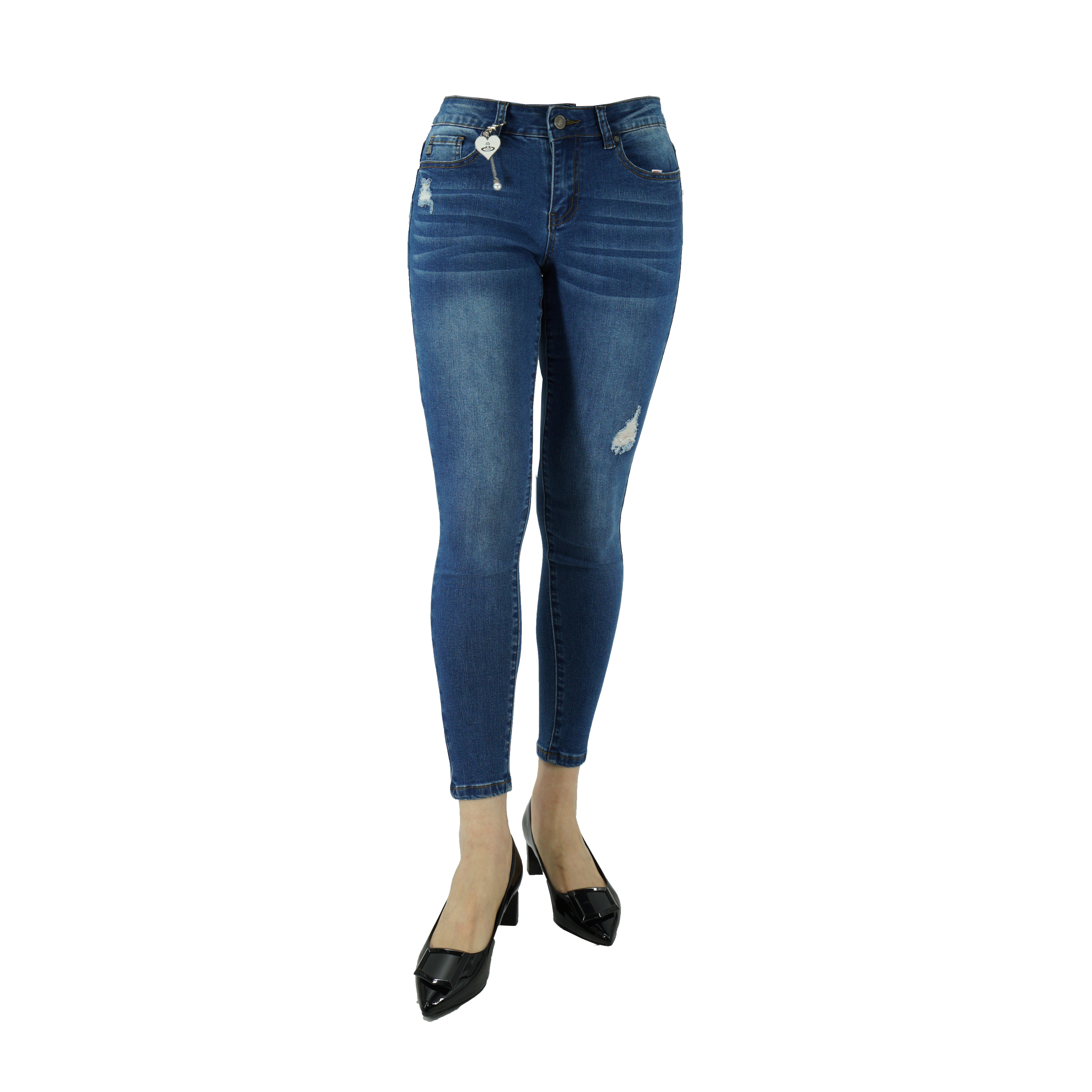 Summer Good Fabrics Jeans Pencil Pants women casual trousers jean of woman ladys jeans paint