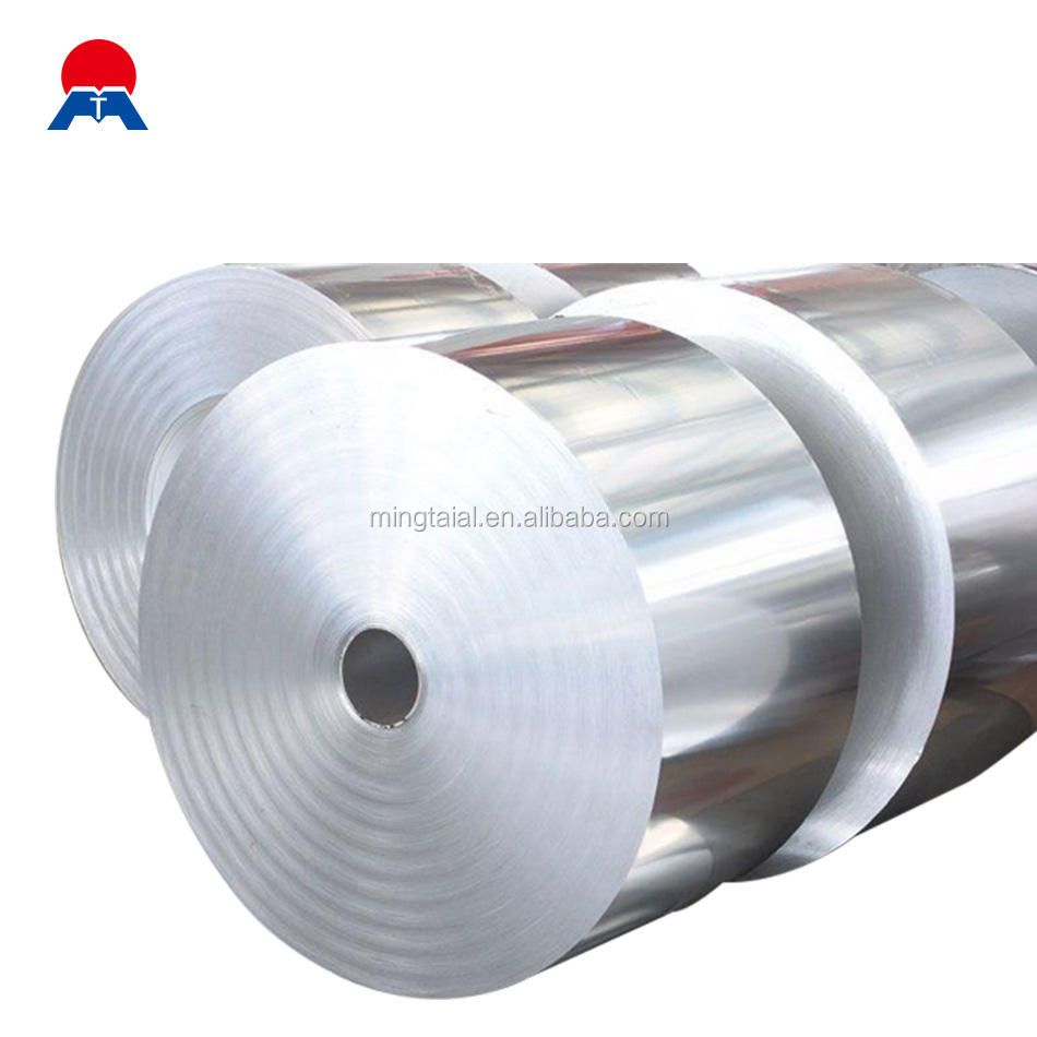 Household aluminum foil jumbo rolls 8011 supplied by factory
