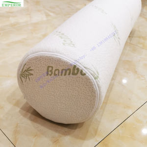 OEM direct factory wholesale King size cylindrical Bamboo body pillow bolster sleeping pillow long spine