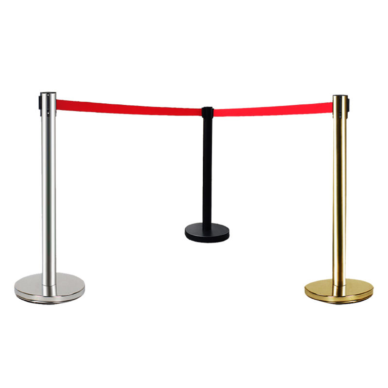 Zhejiang Security Queue Barrier, Good Quality Rope Stand For Car Show Pole Barriers#