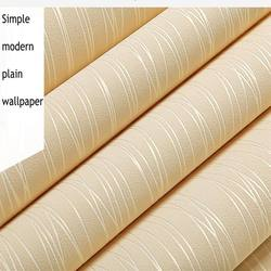 Nordic  non-woven wallpaper  design simple plain color stripe living room bedroom hotel engineering wallpaper wholesale .