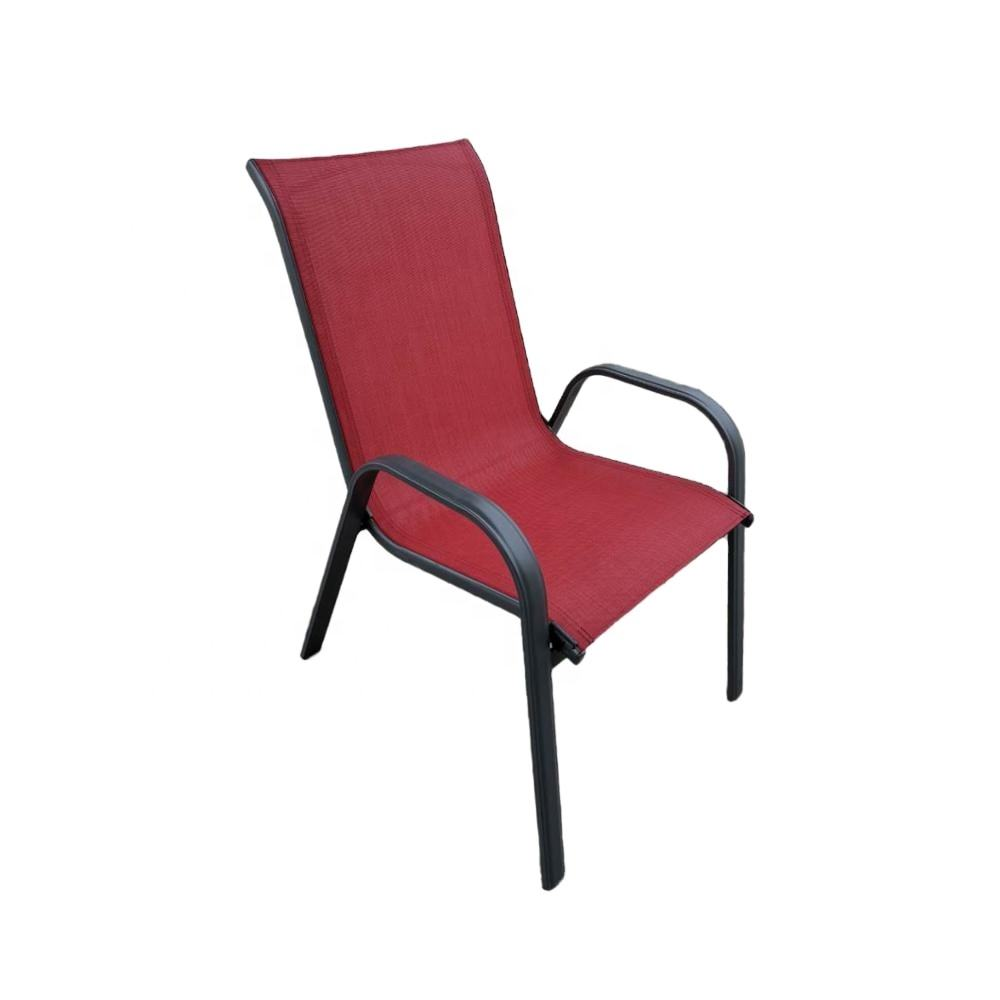 Stacking chair Outdoor Steel Funiture