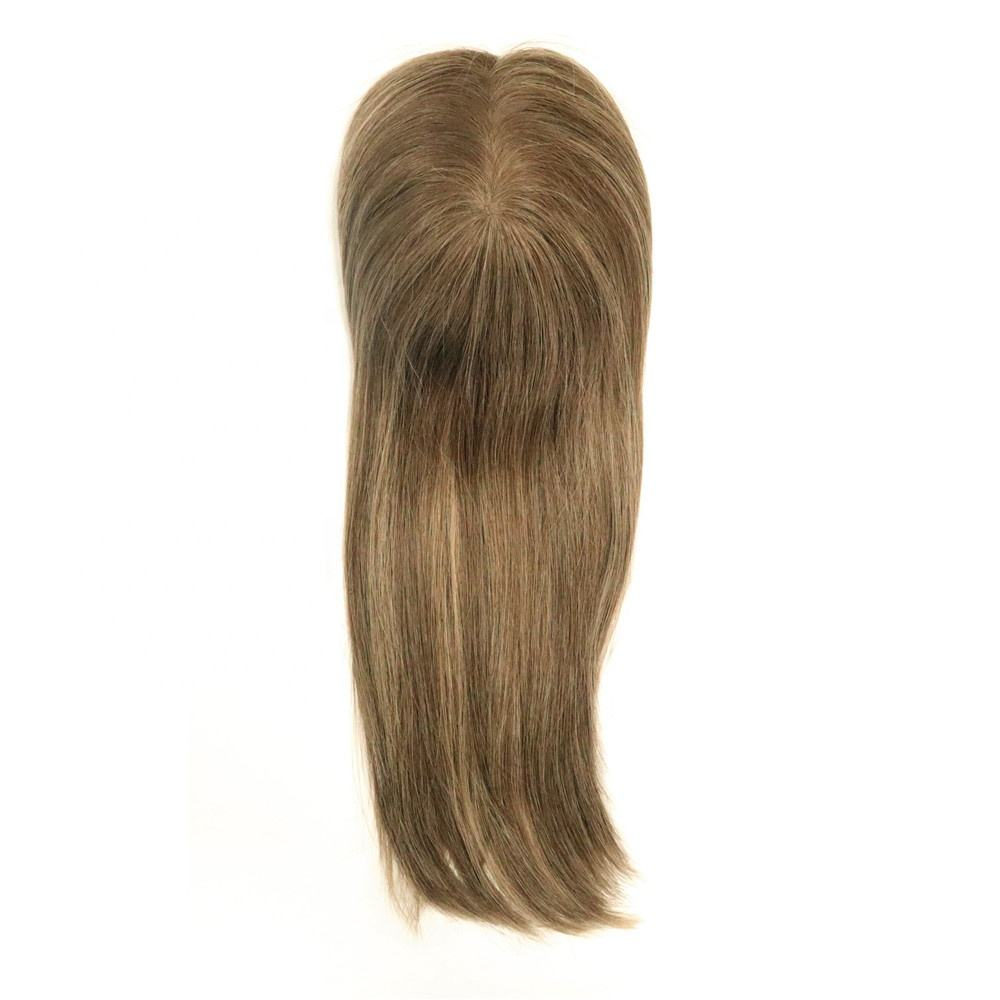 Hair Replacement Woman Wigs Human Hair Toupee Long