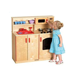 Ce Approved wooden play wonder kitchen pretend play set toys cabinet designs