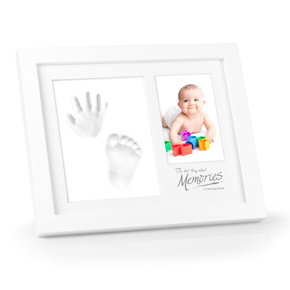 Hot Selling Clay Handprint and Footprint Baby Keepsake Picture Frame Kit