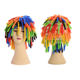 wholesale price customized wigs funny hair wigs Indian dirty braid colorful clown wig good quality children child