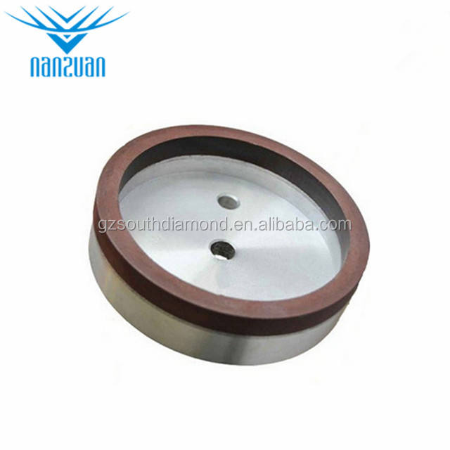 Grinding wheel 6a2 2inch glass resin bond diamond cup grinding wheel