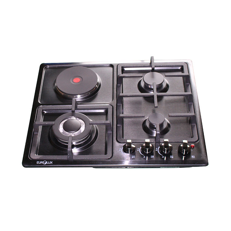 Professional Built-In Aluminum Battery/Electric Ignition stove burner Gas Cooktops