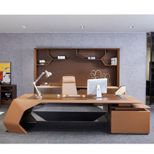 ceo manager desk executive wooden office table