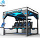 9D Virtual reality amusement park ride 9D VR simulator arcade game machine for 9D VR motion fly simulator