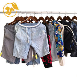 High quality pants wholesale brand used clothes at the UCLOTHES factory of Adult Cargo Short Pants
