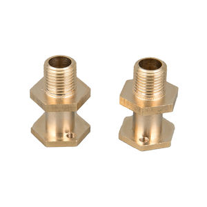 OEM brass cnc parts wire connectors Brass Electrical Fittings