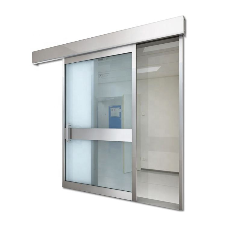 automatic hermetic sliding door operator for hospital operating room