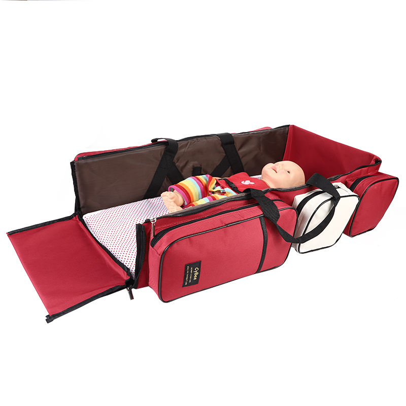 100% Waterproof New Baby Travel Bed Mommy bag