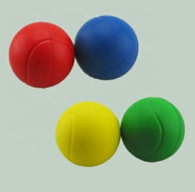 Wholesale multicolor wear-resistant PU game ball PU foam ball stress ball