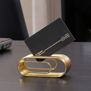 China direct factory high quality metal business card holder