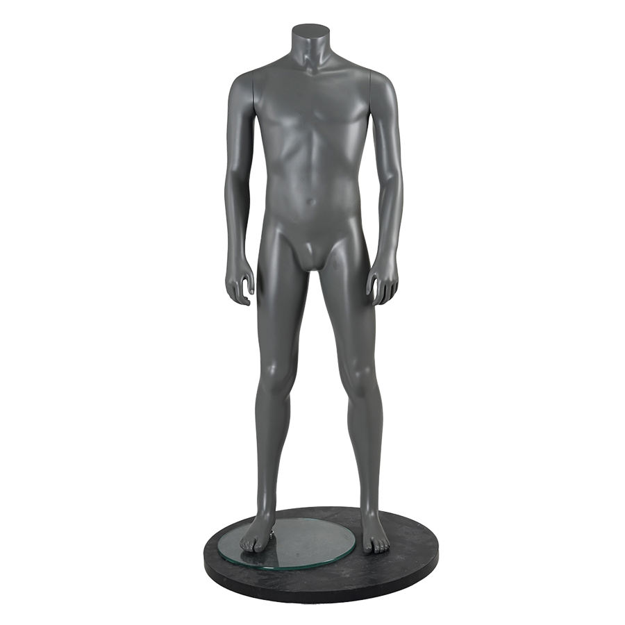 Young man muscle mannequin model muscle bodybuilder sports muscular male mannequin