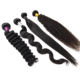 K.S WIGS Cheap 100% Human Hair Extension Raw Brazilian Hair Bundle, Unprocessed Virgin Indian Hair