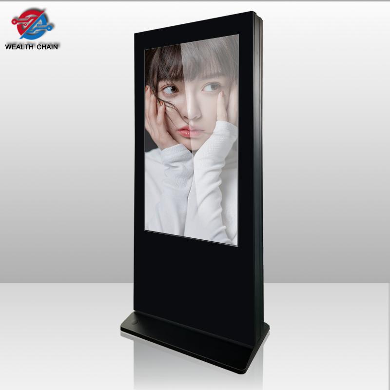 impermeabile display digital signage chiosco a parete a cristalli liquidi di tocco dello schermo di auto di servizio