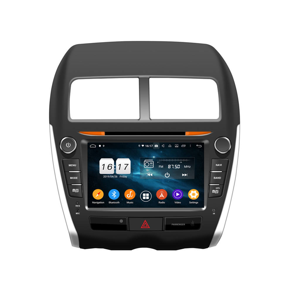Octa-Kern! Android 10 auto <span class=keywords><strong>dvd</strong></span> für ASX 2010-2012 mit 8 Inch Capacitive Screen/ GPS/Mirror Link/DVR/TPMS/OBD2/WIFI/4G