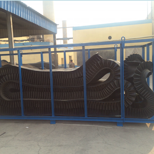 800Mm Lebar Sabuk Tugas Berat Sidewall Conveyor Rubber Belt