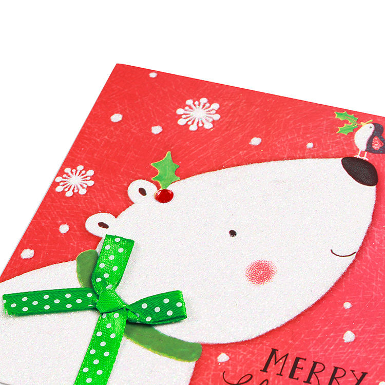 Christmas Paper Card Paper Greeting Cards 2020 New Style Paper Greeting Card Christmas Greeting Card For Sale
