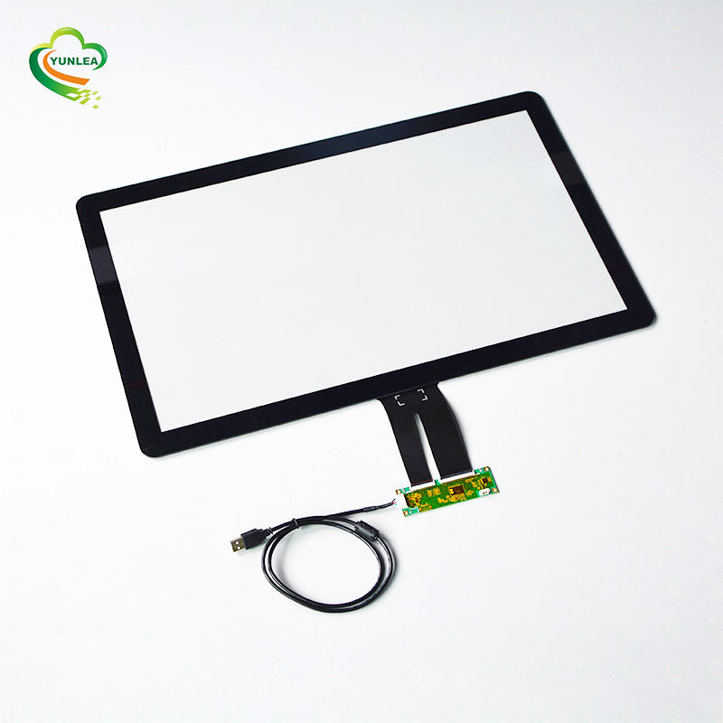 Glas Glas <span class=keywords><strong>struktur</strong></span> 20 touch punkte EXC80H100 touch screen panel kit 32 zoll für POS System