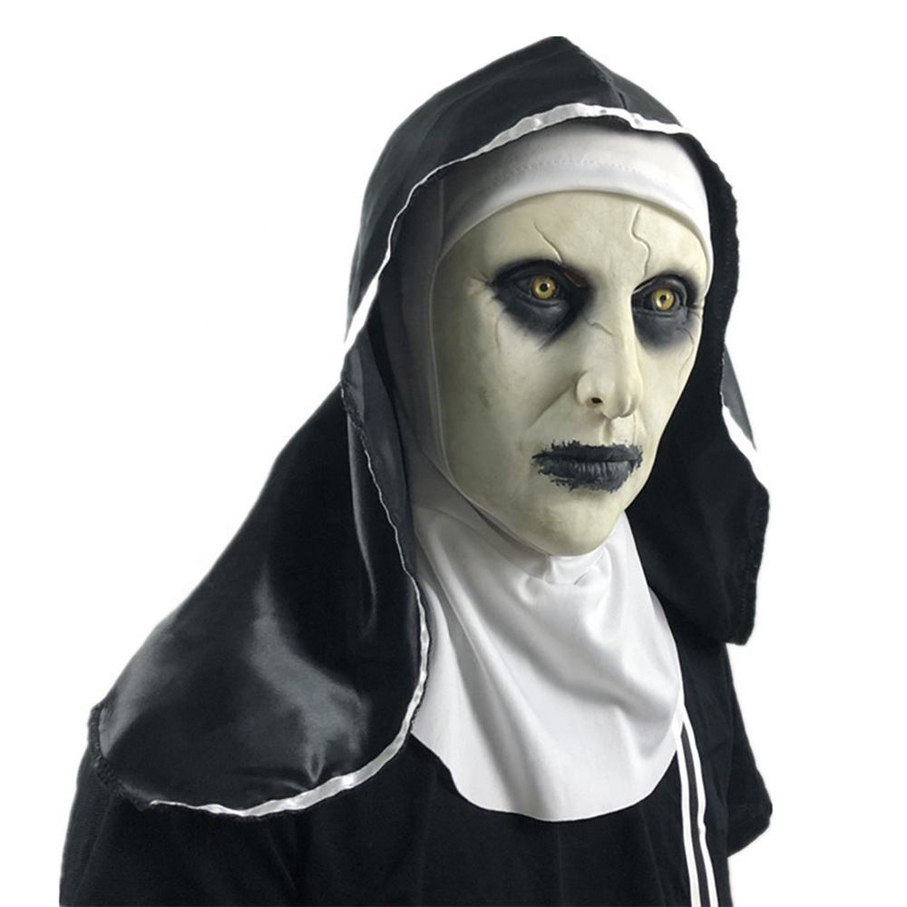 Wholesale nun latex mask for Halloween masquerade party