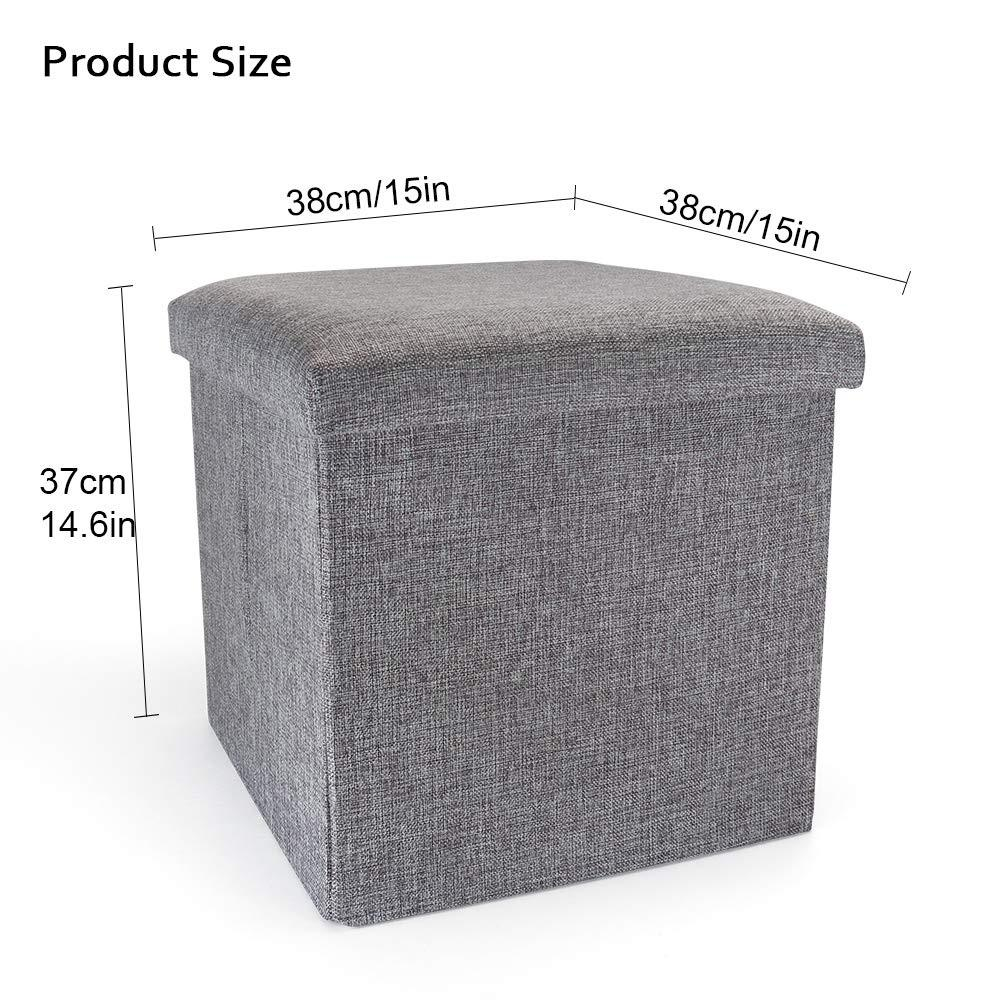 Multifunctional Folding Furniture Storage Stool Finishing Cloth Storage Stool Chair