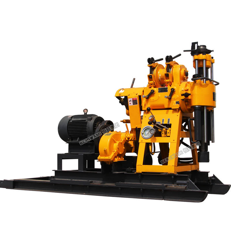 Cheap 200m bore hole portable rotary water well drill rig for sale