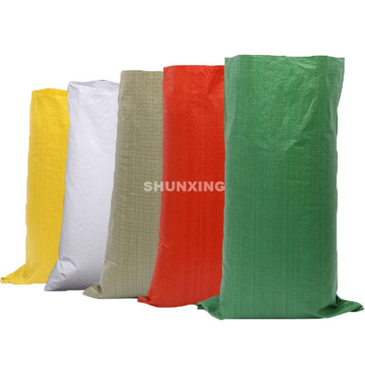 26 years professional supplier 100% new pp material color printing woven sack bag