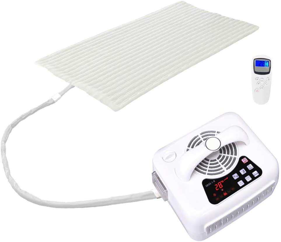 Heating and Cooling Mattress Pad for Best Sleep Aiding Topper Pad for Bed with Temperature Controlled Water System