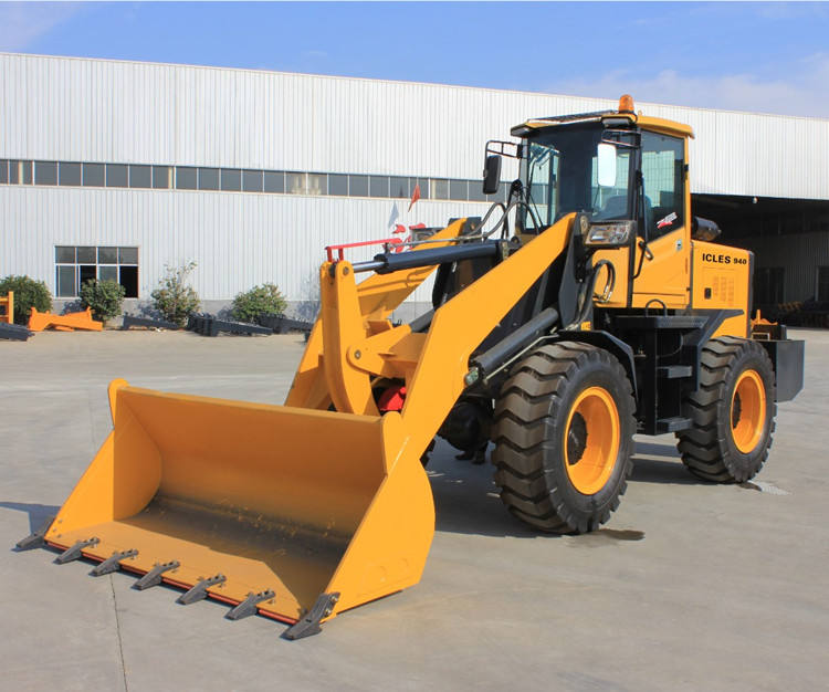 2.5 tons 1.4 CBM mini front loader wheel loader China manufacturer