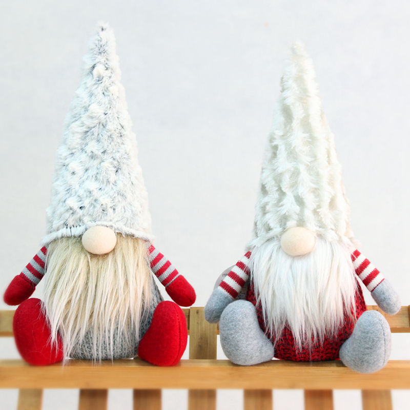 Hot Selling Christmas Elf Boom Pop Ornamenten Pluche Kerstversiering Gnomes Gift Voor Kids