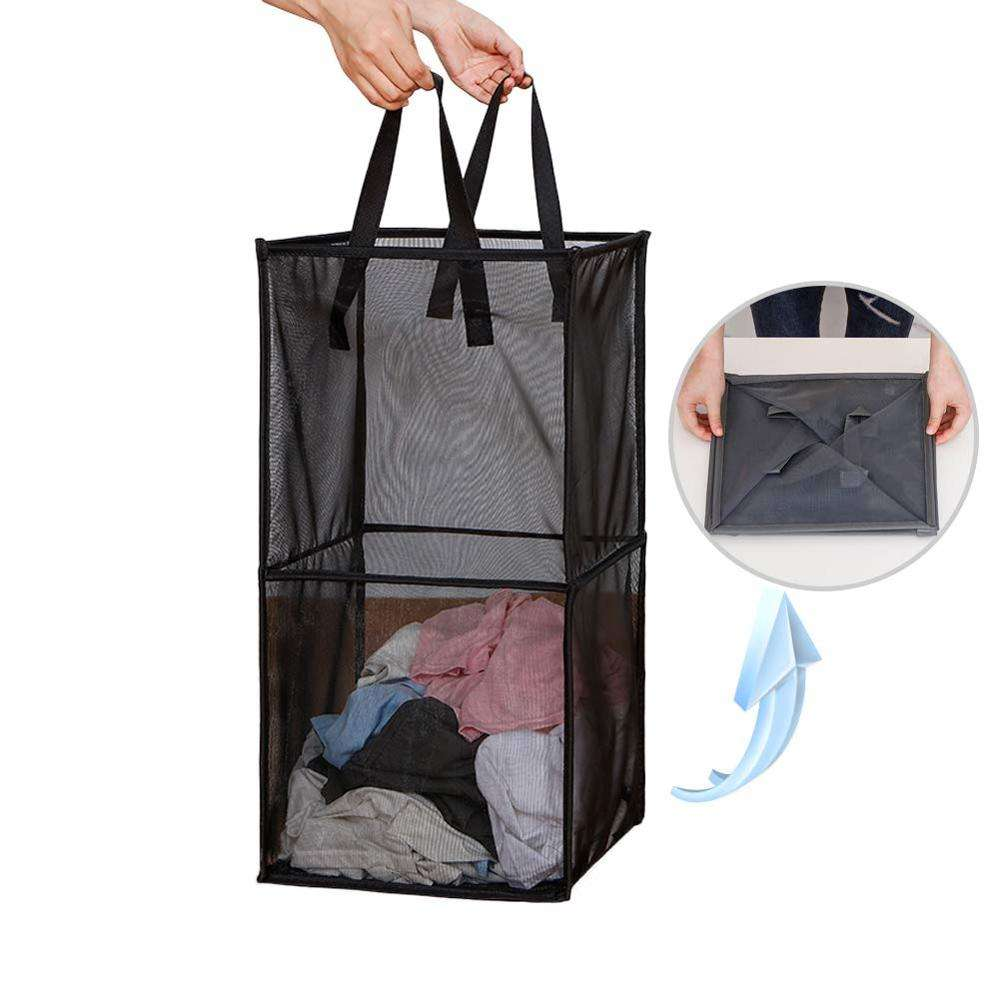 Portable Clothes Hampers for Laundry Basket for Kids Room Collapsible Pop Up Laundry Hampers with Handles Easy to Fold