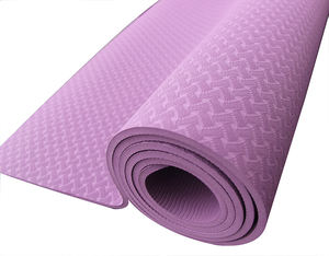 Amazon Hot Selling Custom Gedrukt Antislip Milieuvriendelijke Pilates Tpe Yoga Mat