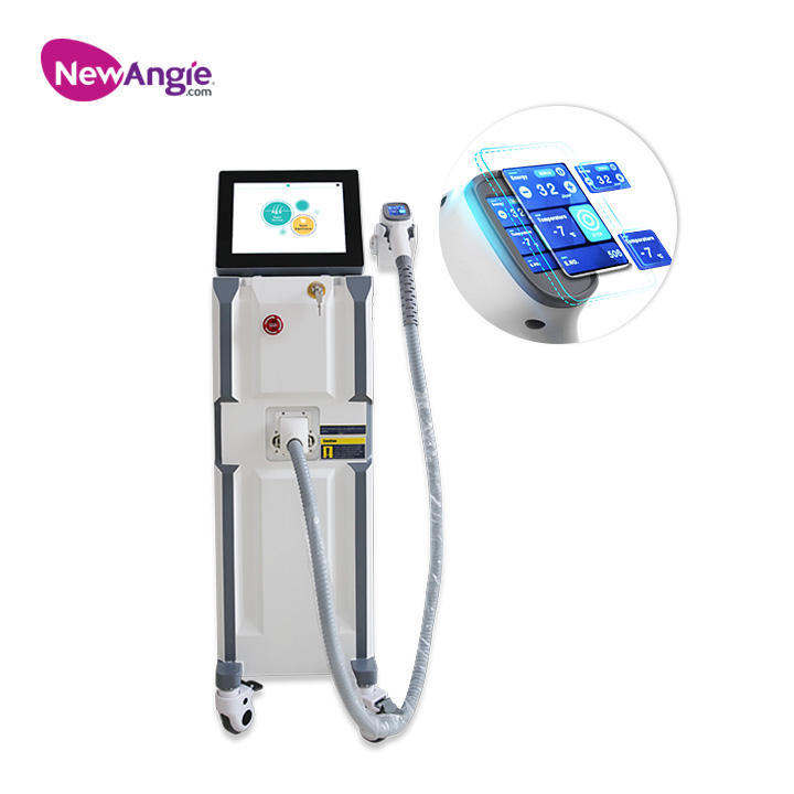 CE approval longlife 20000000 shots 3 wavelength 1064 755 808 diode laser hair removal machine