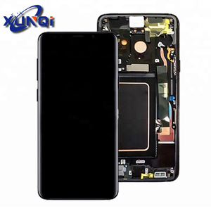 Factory Wholesale Original s9 smartphone display For Samsung galaxy smartphone S9 LCD Touch Screen + Frame