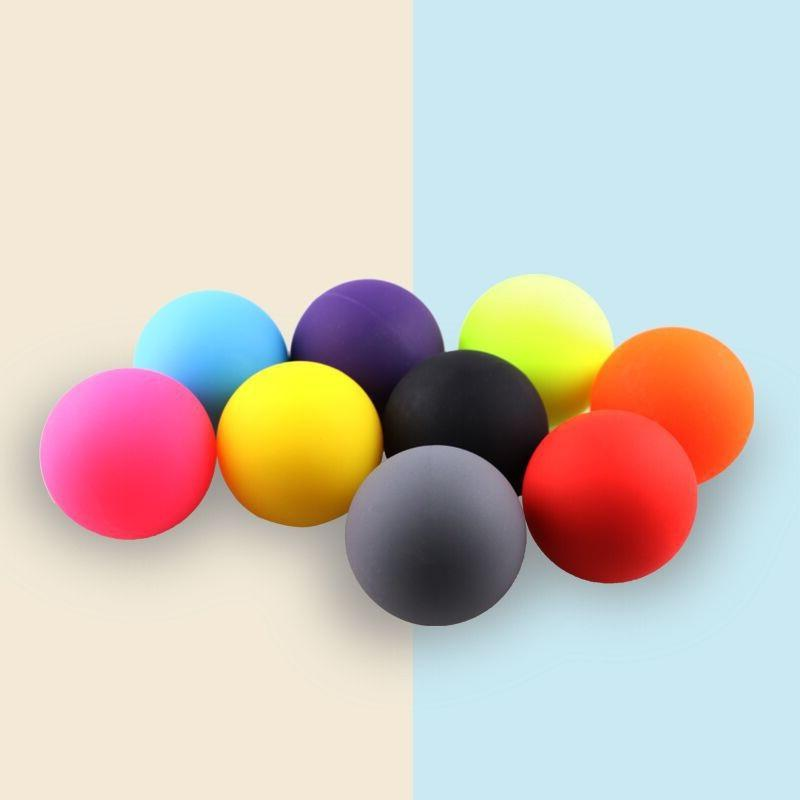 High Quality Massage Lacrosse Ball Verocity Hockey Therapy Ball Soft Massage Ball/
