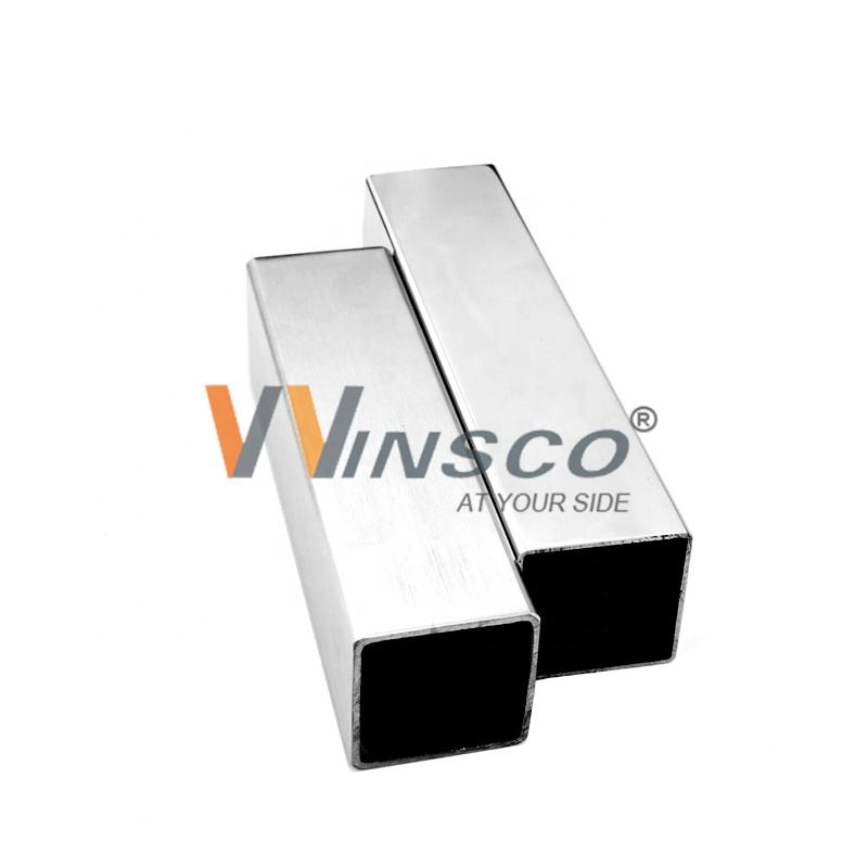 Cheap price ASTM A554 Grade 201 304 316 Stainless steel Square Pipe For Handrail