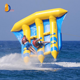 YUQI cheap floating inflatable flyfish water boat sports games for sale