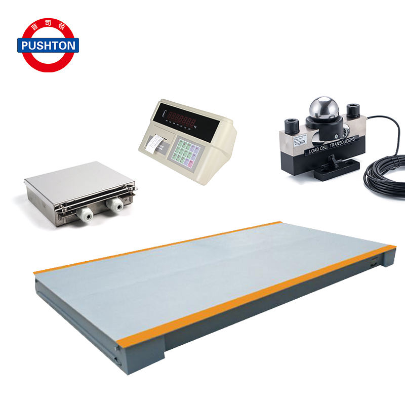 Truck Weighing Scale in Ground Weighing 60ton Vehicle 200ton