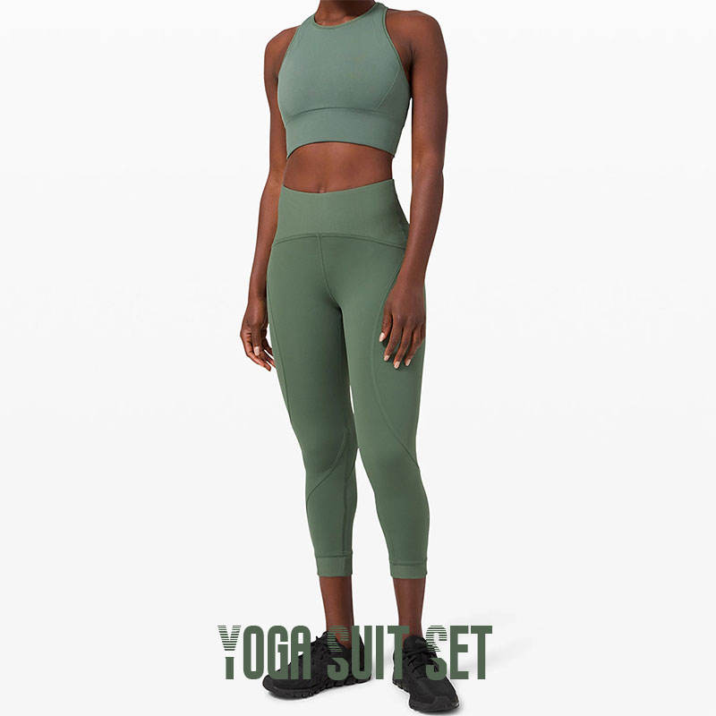 2020 Trendy Yoga Track Suit Dry Fit Bodycon Fitness Wear Push Up Butt Lift Spandex Women Yoga Suits Set