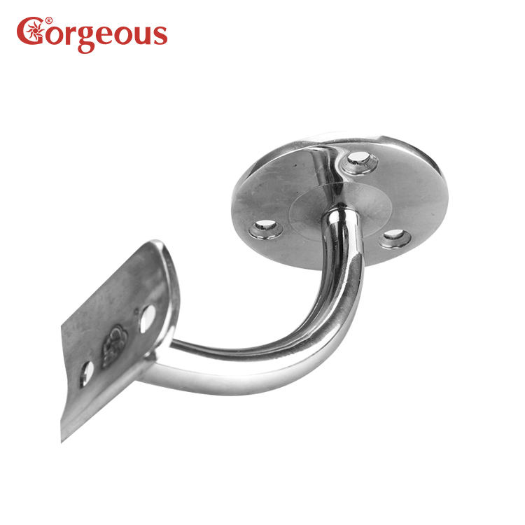 wall to handrail connector for Stair railing,wall handrail bracket,stainless steel handrail holder