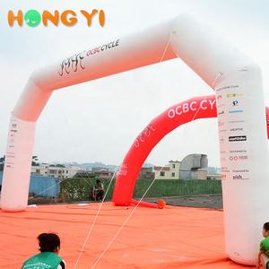 Large Competition Arch Outdoor Advertising Promotions Inflatable Arches