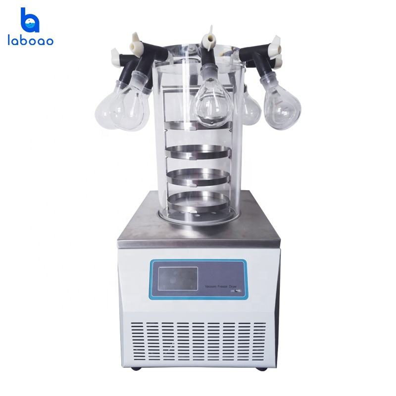 Small Pharmaceutical Mini Vacuum Herbal Freeze Dryer Drying Machine China