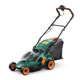 New electric lawn tractor lawn mower With three blades