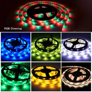 cheap price 5050 smd 5M remote RGB led strip light kit guzhen shenzhen 24key flex led neon strip light with dimmable